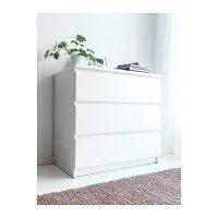 malm-comoda-c-gavetas-branco IKEA