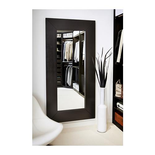 Espelho mongstad preto a sua loja de confian a for Miroir jondal ikea