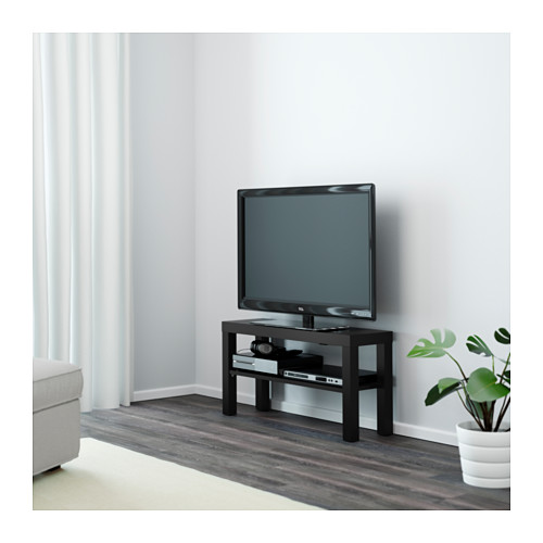 m vel para tv lack preto a sua loja de confian a. Black Bedroom Furniture Sets. Home Design Ideas