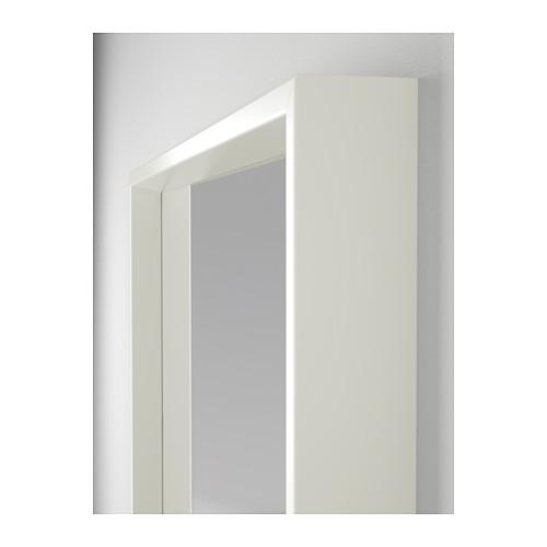 espelho nissedal branco a sua loja de confian a. Black Bedroom Furniture Sets. Home Design Ideas