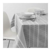 Toalha de mesa cinza . JPG