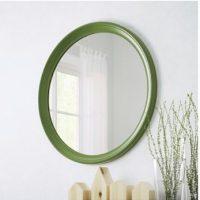 Espelho verde.